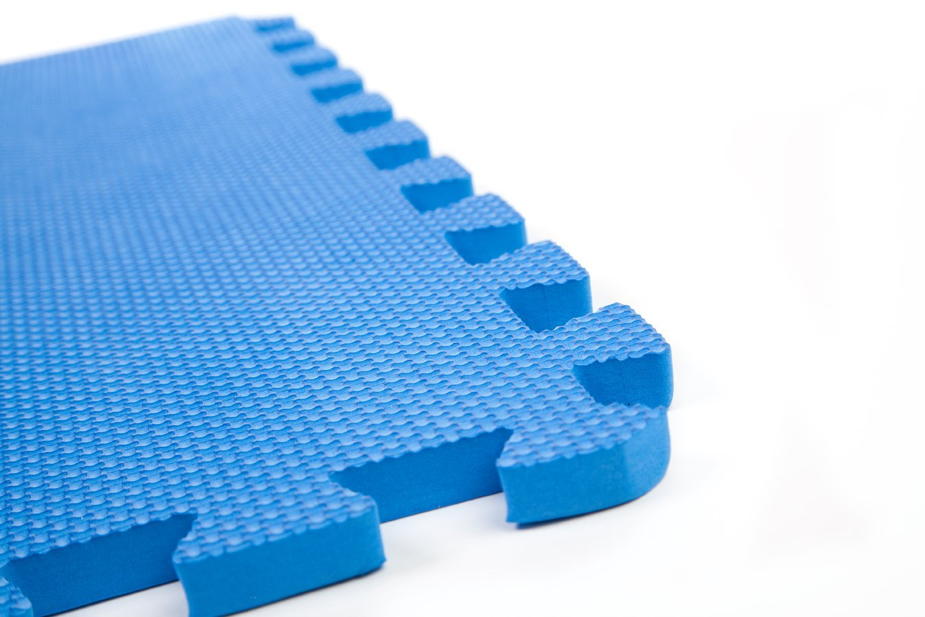 60 X 60 Cm Blue Interlocking Eva Soft Foam Exercise Floor